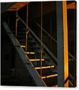 Dark Stairway Canvas Print