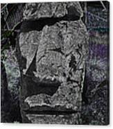 Dark Tiki Canvas Print