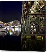 Darling Harbor At Night Canvas Print