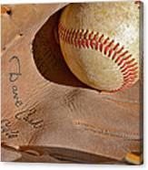 Dave Cash Mitt Canvas Print