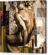 David Et Julie Canvas Print