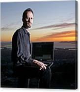 David P. Anderson, Us Computer Scientist Canvas Print