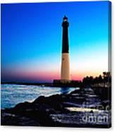 Dawn At Barnegat Light Canvas Print