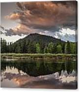 Dawn On The Snake River Canvas Print