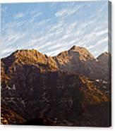 Dawn Vaishno Devi Himalayas Canvas Print