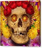 Day Of The Dead - Dia De Los Muertos Canvas Print