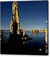 Daybreak On Mono Lake Canvas Print