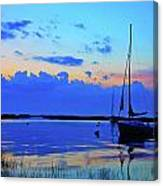 Day's End Rock Harbor Canvas Print