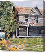 Days Gone By...sold Canvas Print