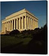 Daytime View Of The Lincoln Memorial Canvas Print