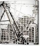 Daytona Beach Ferris Wheel Canvas Print