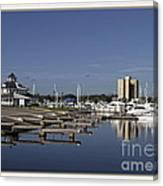Daytona Boat Launch Canvas Print