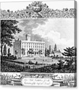 Deaf And Dumb Asylum, 1835 Canvas Print