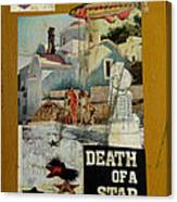 Death Of A Star Canvas Print
