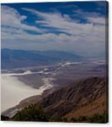 Death Valley Vista Canvas Print