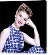 Debbie Reynolds, C. 1950s Canvas Print
