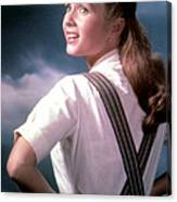 Debbie Reynolds In The 1950s Canvas Print