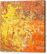 Decayed Wall Canvas Print