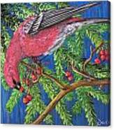 December Berries Canvas Print