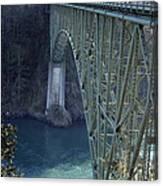 Deception Pass Bridge South Span Canvas Print