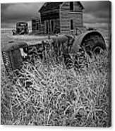 Decline Of The Small Farm No.2 Canvas Print