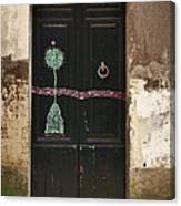 Decorated Door Canvas Print