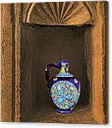 Decorative Carafe In An Alcove Canvas Print