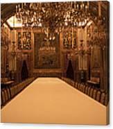 Decorative Dining Canvas Print