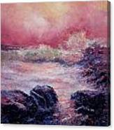 Dee Why Storm Canvas Print