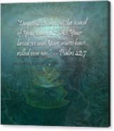 Deep Calls To Deep Canvas Print