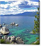 Deep Waters Lake Tahoe Canvas Print