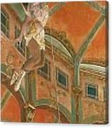 Degas: Miss La La Canvas Print