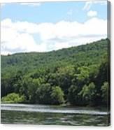 Delaware Water Gap Scenery Canvas Print