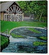 Deleon Springs Canvas Print