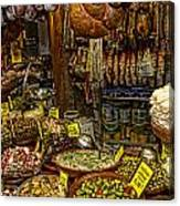 Deli In Palma De Mallorca Spain Canvas Print