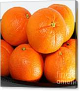 Delicious Cara Cara Oranges Canvas Print