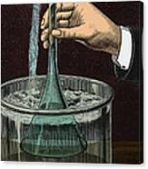 Demonstration Of Vacuum Canvas Print