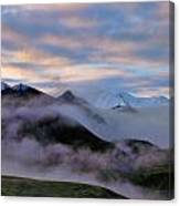Denali Dawn Canvas Print