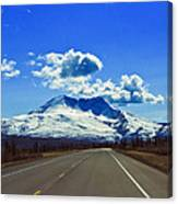 Denali Highway Canvas Print