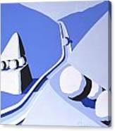 Denizens Two Canvas Print