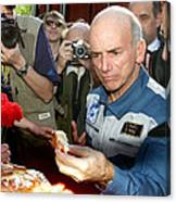 Dennis Tito, First Space Tourist Canvas Print