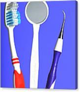 Dental Equipment Canvas Print