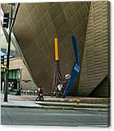 Denver Art Museum - Exterior 2010 Canvas Print