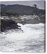 Depoe Bay Oregon Canvas Print