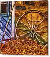 Derelict Cabin Canvas Print