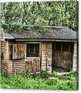 Derelict Stable Canvas Print