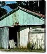 Derilict Building Canvas Print