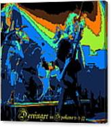 Derringer Rock Spokane 1977 Canvas Print