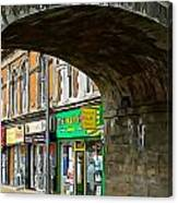 Derry Shops Canvas Print