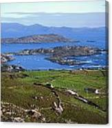 Derrynane Harbour, Caherdaniel, Ring Of Canvas Print